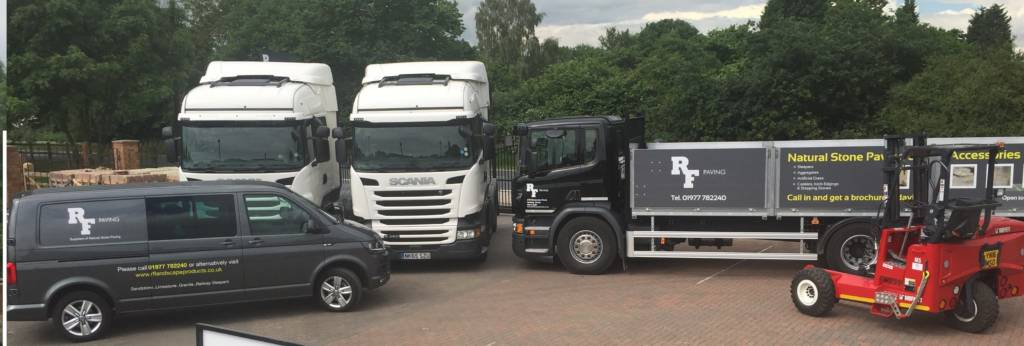 RF Paving Delivery Vehicles