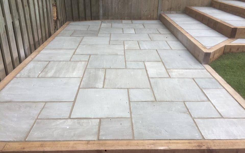 Bespoke Garden Solutions - Kandla Grey Paving