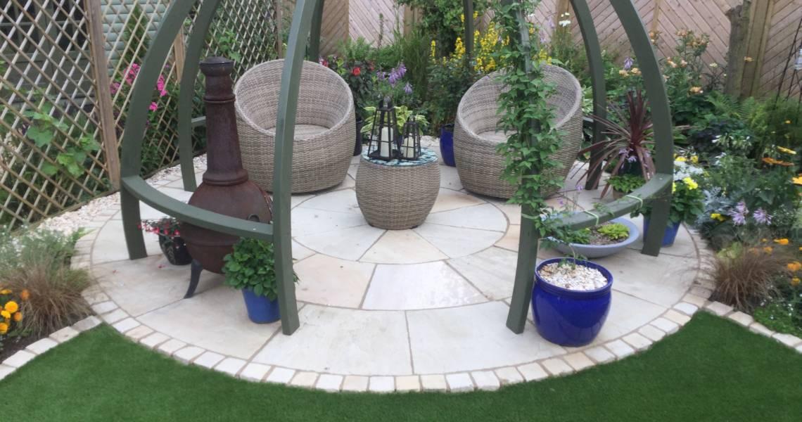 Stone Circle Kit Installed