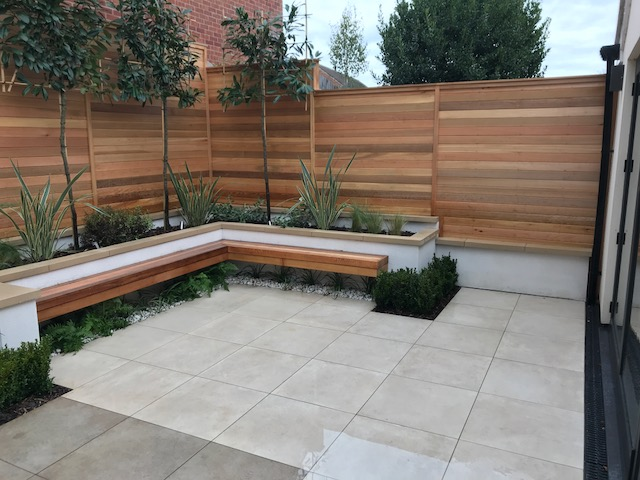 Paving slabs landscaping suppliers rf landscape products for Garden decking and slabs